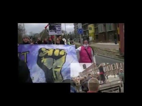 M31 European Day of Action against Capitalism Netherlands Utrecht compilation video.avi