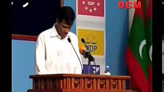 Repeat youtube video Umar Naseer criticizing Maumoon's government