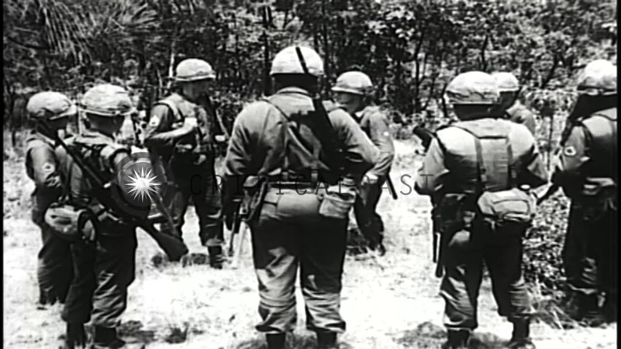 Training film from the US Army 'Rifle squad in attack' Part I on ...