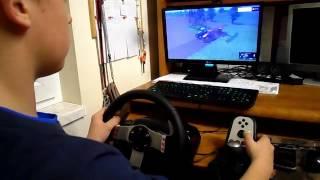 Farming Simulator 15 Logitech G27 2 orka i siew