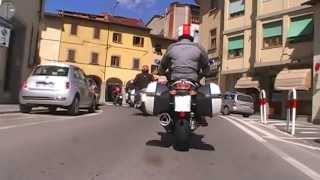 Moto Guzzi Norge GT8V Onboard in Tuscany