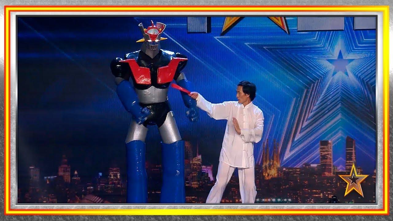 ¿Listo para ver a un chino luchando con el mismo Mazinger Z? | Audiciones 2 | Got Talent España 2019