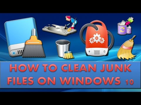 How to clean junk files on windows 10?