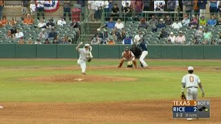 Texas Longhorns baseball open 2020 season with series sweep of Rice Owls   KVUE