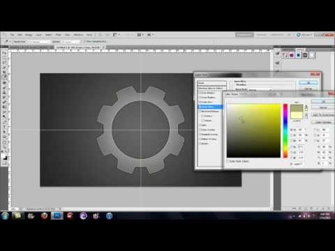 Adobe Photoshop Tutorial | How to Create Gears