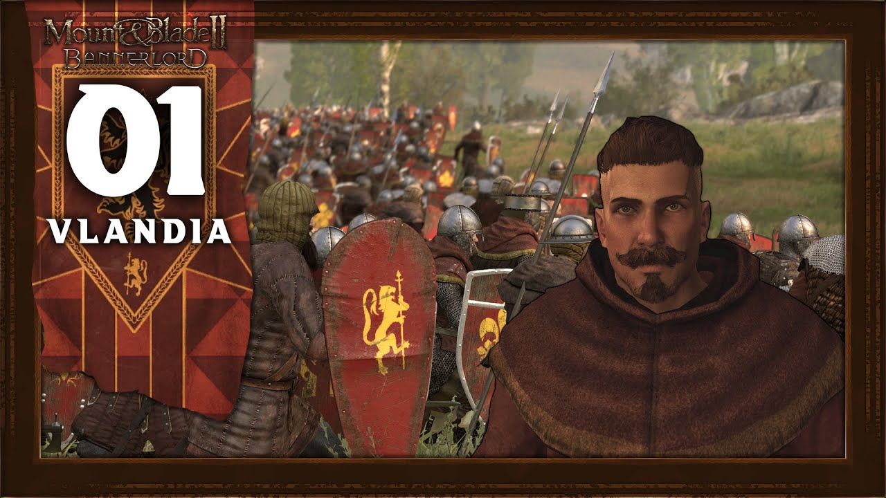 WILLIAM MARSHAL, KNIGHT OF VLANDIA - Mount and Blade 2 Bannerlord (Vlandia) Campaign Gameplay #1