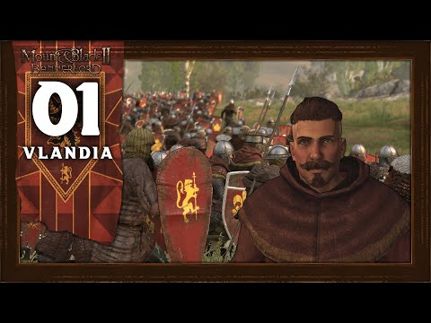 WILLIAM MARSHAL, KNIGHT OF VLANDIA  Mount and Blade 2 Bannerlord (Vlandia) Campaign Gameplay 1
