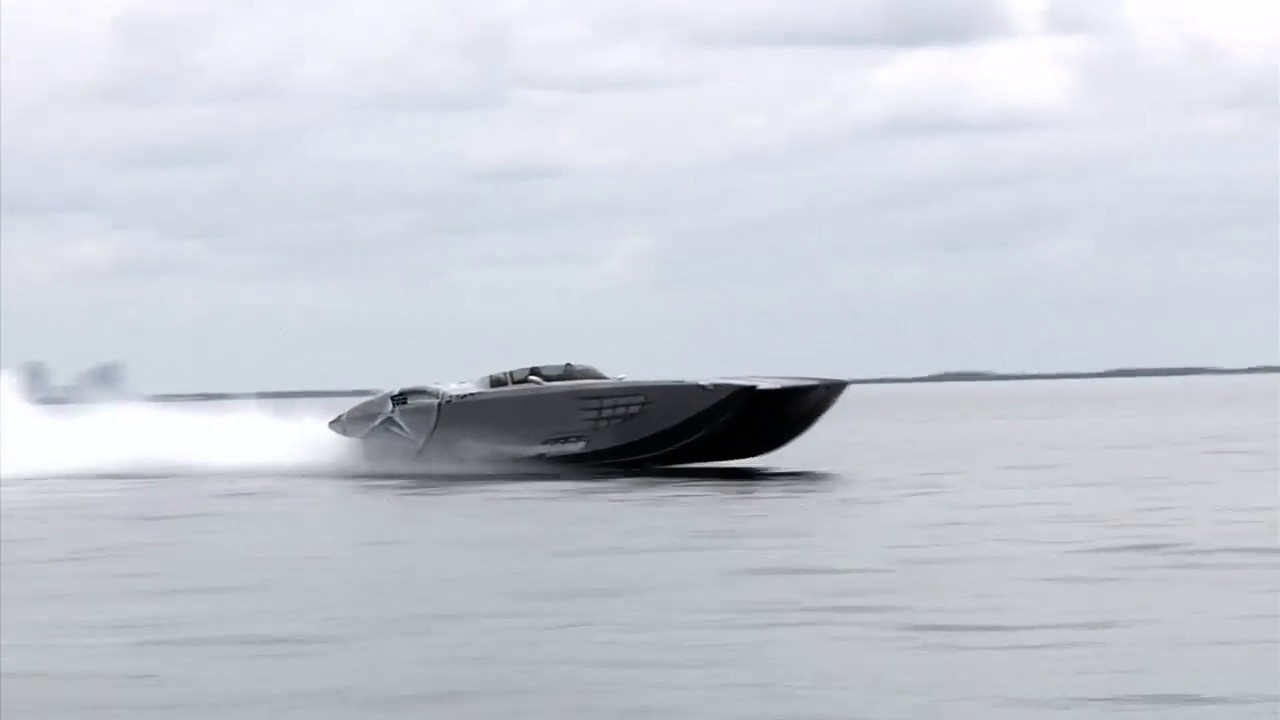 MTI Mercedes Benz Powerboat 193MPH