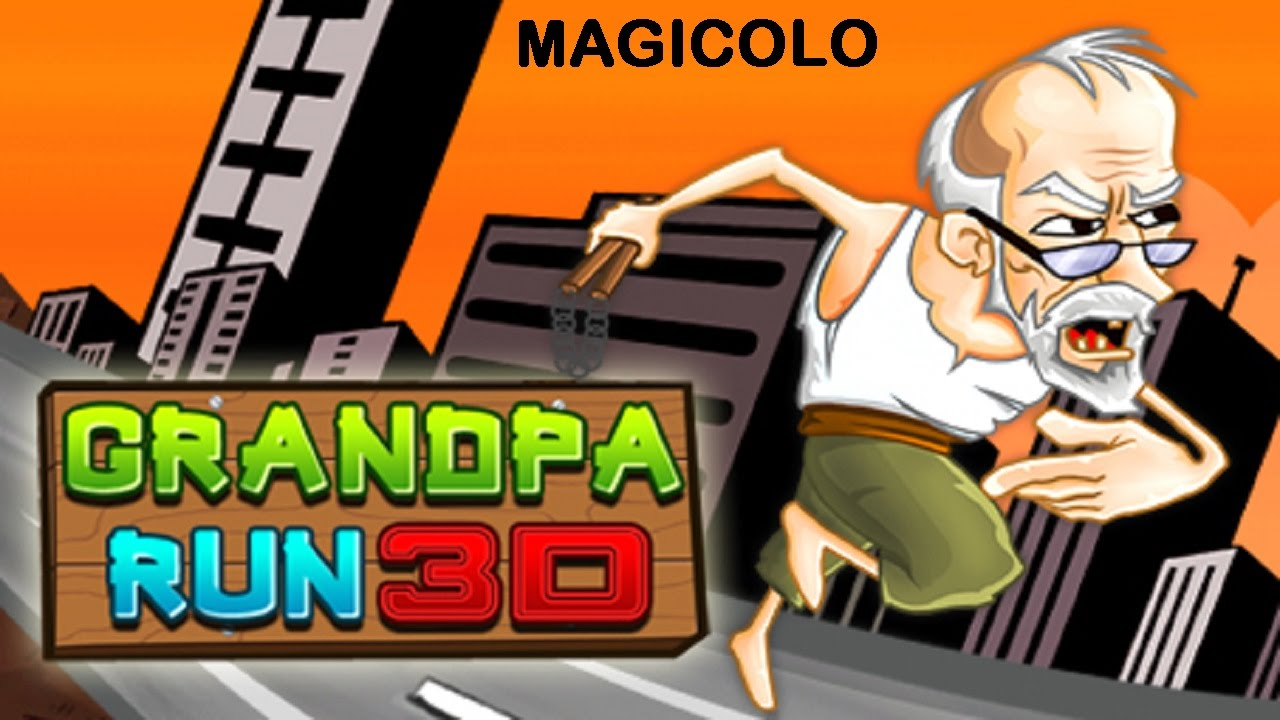 Grandpa Run 3D - Y8 Game to play 2015 - YouTube