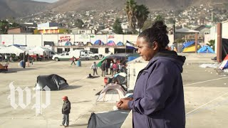 'We're desperate here': Migrants face tough choices in Tijuana
