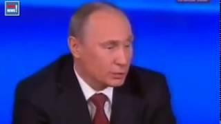 ЗАПРЕТНОЕ ВИДЕО ЮТУБА! Путин 2014 резко и  жестко отреагировал на вопрос журналиста!