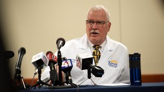 Kdhe secretary lee norman updated the media about latest numbers and measures relating to coronavirus friday afternoon, march 20, 2020. he also explained...