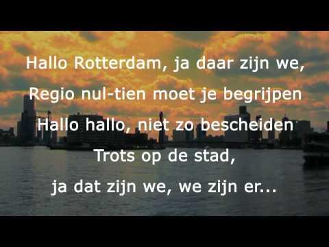 Hallo Rotterdam karaoke (door Zangmakers)