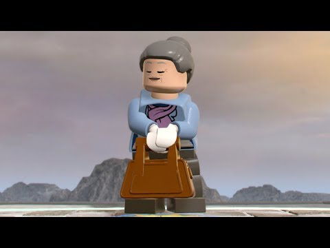 LEGO Marvel Super Heroes 2 - Aunt May - Open World Free Roam Gameplay (PC HD) [1080p60FPS]
