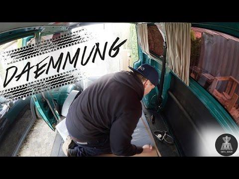Dämmung Fußboden Wohnmobil ~ Vw t4 dämmung mit armaflex youtube