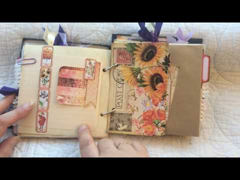 Design Team Ring Journal for Calico Collage June 2017 - Natures Glory