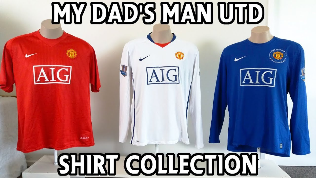 best website 1ee26 42040 My Dad's Manchester United Jersey Collection 1990-2019!