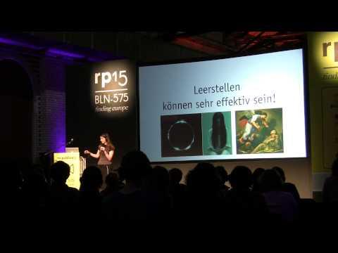 re:publica 2015 – Ines Dorian Gütt: Surveillance Art und die fehlende Ästhetik der digitalen ... on YouTube