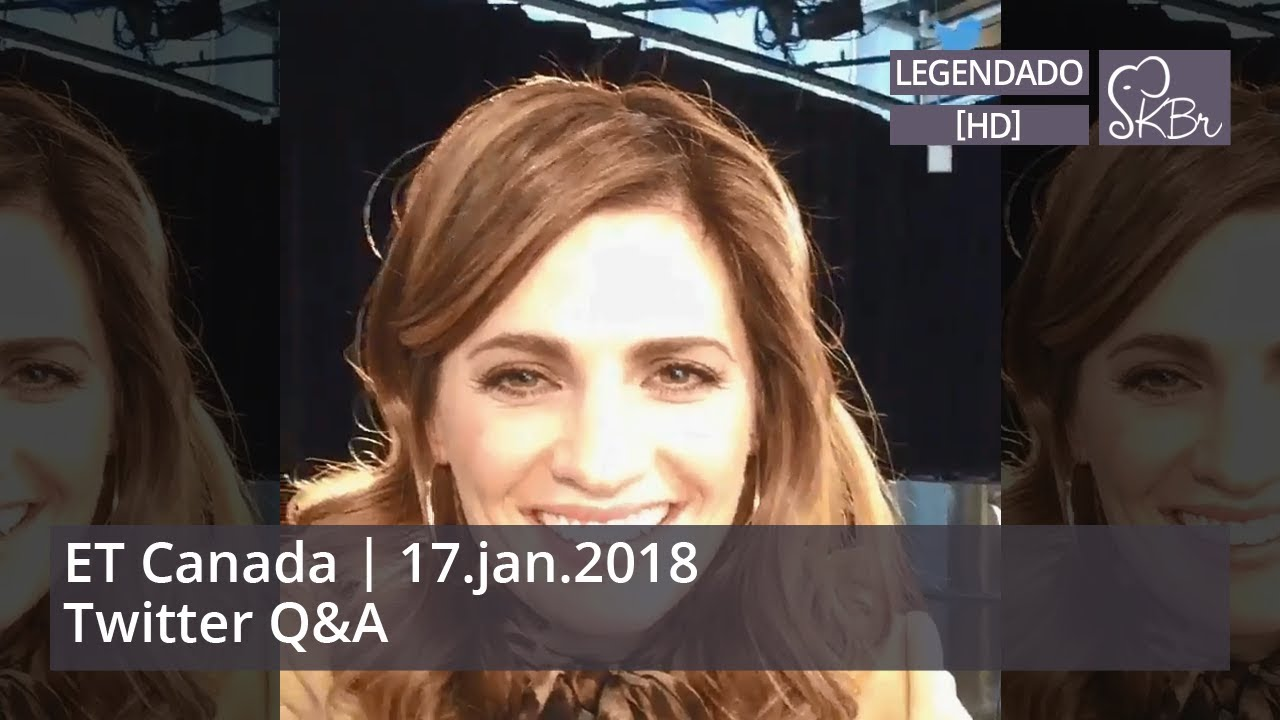 Stana Katic @ ET Canada Q&A - 17/11/2018 (legendado) - YouTube