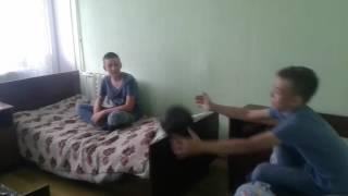 Бомж Вася ( приколы в лагере)