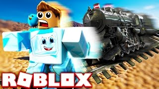 THIS TRAIN RAN ME OVER IN ROBLOX!!!