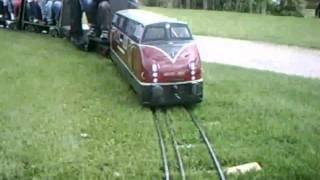 Dampfbahn Leverkusen - Weltkindertag Fahrtag (06:07)