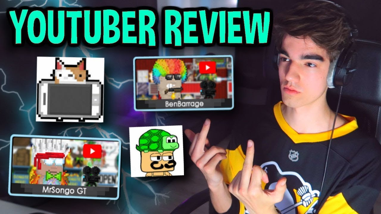 Download 👏 ROASTING YOUTUBERS 👏 | Growtopia YouTuber Review
