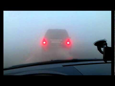 Туман в Мончегорске