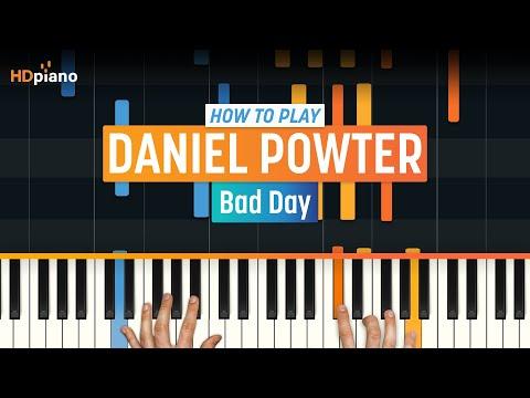 Bad Day  Daniel Powter  HDpiano Part 1