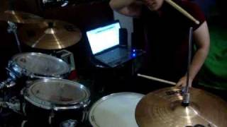 How to play When September Ends on the Drums