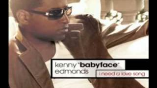 Watch Babyface I Need A Love Song video
