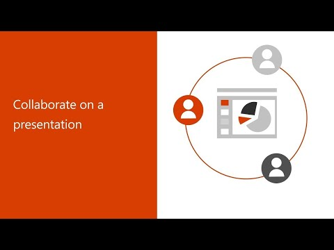 Collaborate on a presentation in Office 365 thumbnail