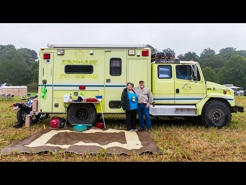 This Guy Turned an Ambulance Into an Adventure Vehicle