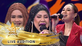 Elvy, Iyeth Dan Nella [Gula Gula] Suaranya Gokilll! | Live Audition | Rising Star Indonesia Dangdut