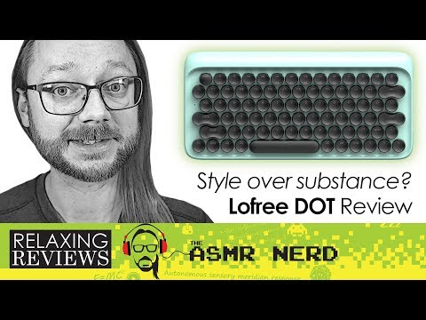 Style Over Substance? Lofree Dot Retro Wireless Mechanical Keyboard ASMR Review