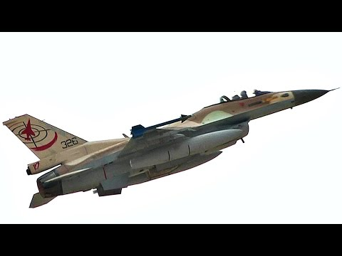 Israeli Air Force, U.S. Air Force Fighter Jets Takeoff/Landing