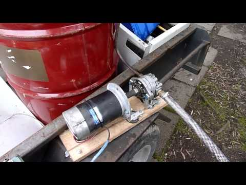 Aussie Redneck oil transfer pump