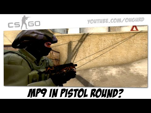MP9 in pistol round?!