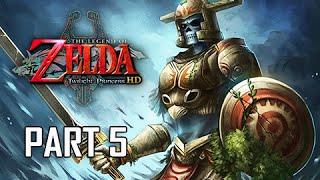 The Legend of Zelda Twilight Princess HD Walkthrough Part 5 -  Hero