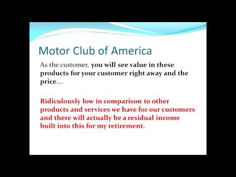 Motor Club of America:Your Online Business