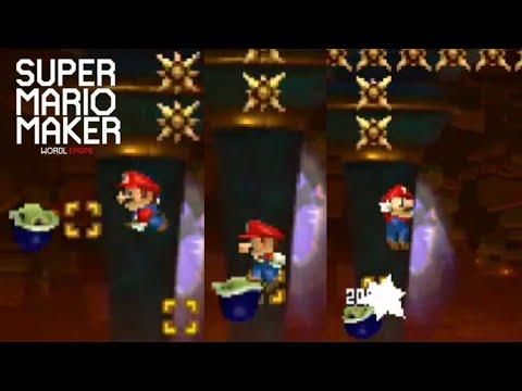 Mis últimos niveles de la b3 por la nueva versión lite de smmwe | Super Mario Maker World Engine