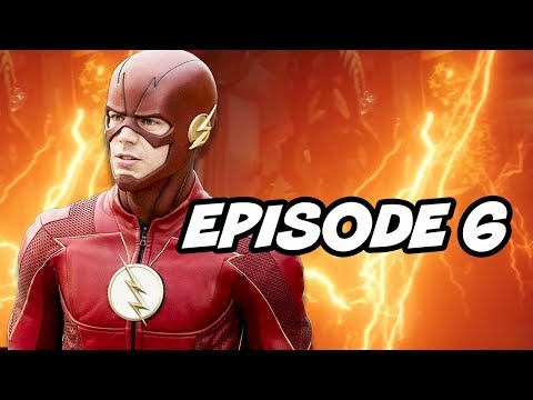 The Flash Season 4 Episode 6 - Council of Wells TOP 10 WTF and Easter Eggs