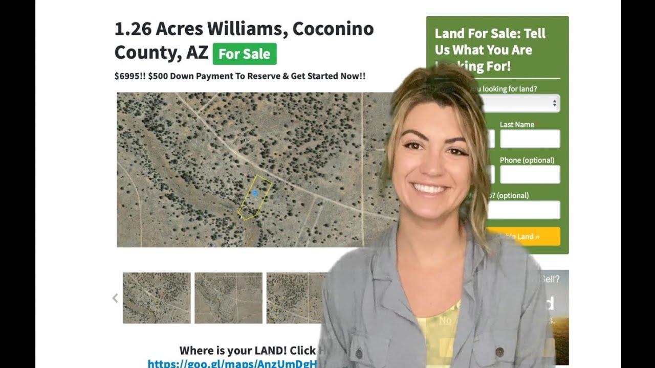 1.26 Acres Williams Property in Coconino County, CA