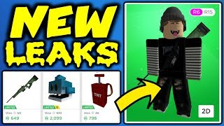 WOW!! You Have To See These Leaked Roblox Hats!