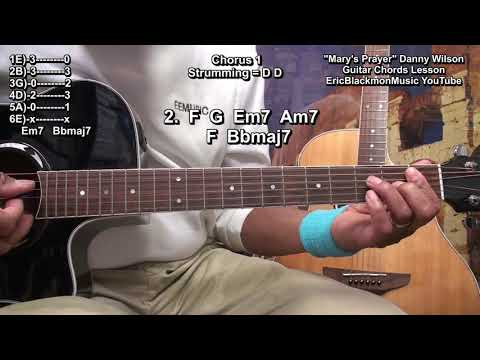 How To Play MARY&39;S PRAYER Danny Wilson On Guitar EricBlackmonGuitar 🎸