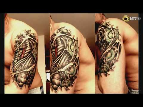 Best Half Sleeve Tattoo Design Idea