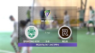 Обзор матча Sporting Kyiv 0 8 Rejo Турнир по мини футболу в Киеве