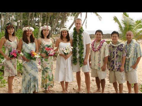 Hawaiian Wedding Attire