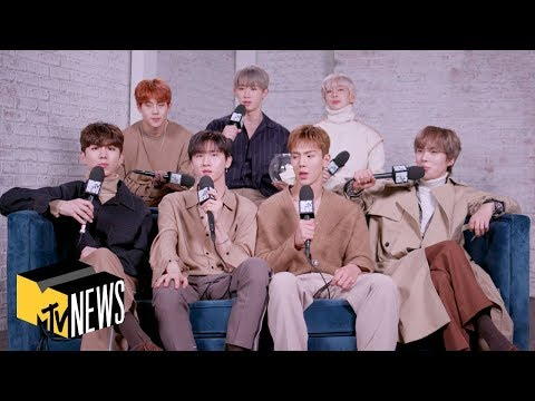 MONSTA X Talk Avengers, Common Misconceptions, & More In 'Dive In'  | MTV News