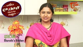 Cookery Tips & FAQs || How to Make Crispy and Puffed Poories | Bharathi's Kirchen